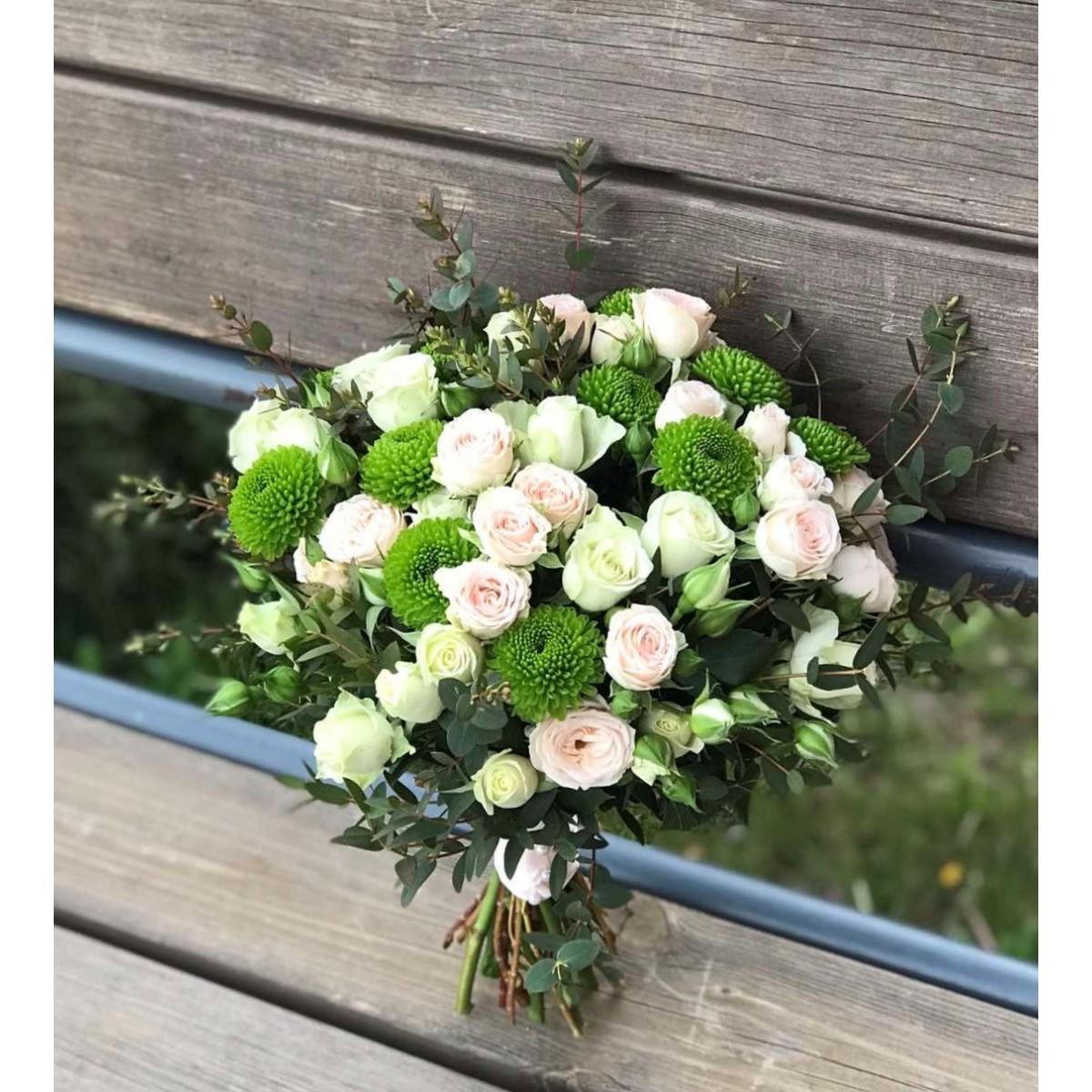 Свадебный букет №637